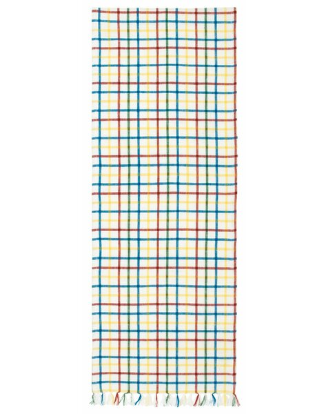 Bailie 100% Cotton Plaid Table Runner (Set of 2) by Latitude Run